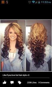 dye bottom hair tips still in style the 25 best brown hair on top blonde on bottom ideas on pinterest