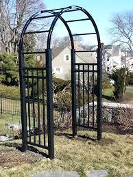 black aluminum arbor arbors and garden structures pinterest