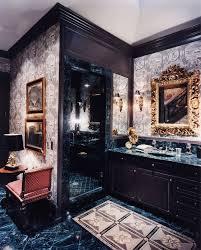 bathroom wooden frame mirror bathroom glass shower room 2017