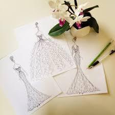 new wedding dress sketches from justin alexander mywedding