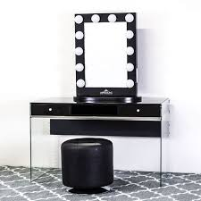 Glass Vanity Table With Mirror Https I Pinimg Com 736x 26 A4 22 26a422323640afa