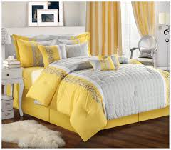 Bedroom Ideas With Grey Bedding Yellow And Grey Bedding Target Beds Home Design Ideas