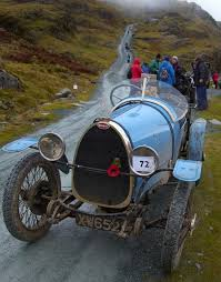 vintage bugatti car event to reach dizzy heights in the lake district