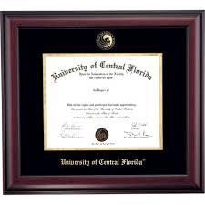 ucf diploma frame of central florida diploma frames diploma display ocm
