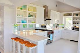 decor bar stools and white kitchen cabinets with kitchen
