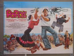 popeye vintage movie poster at simondwyer com