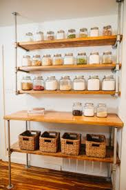 Kitchen Shelving Units by Best 20 Open Pantry Ideas On Pinterest Open Shelving Vintage