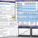 Business Valuation Excel Template Business Valuation Template Present Value Excel Template Sle