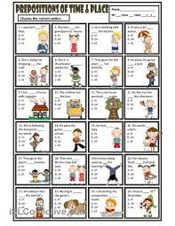 27 best prepositions images on pinterest preposition activities