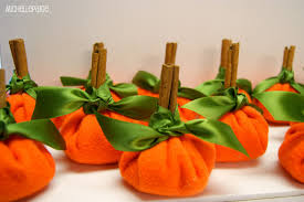 blogs thanksgiving pumpkin place card holders