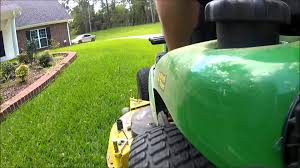 john deere x324 demonstration 4 wheel steering 4ws 2010 model