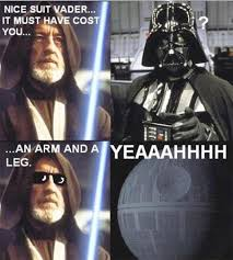 Star Wars Meme - nice suit vader funny star wars meme