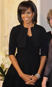 ms obamas hair new cut michelle obama ordered a copy of mademoiselle c to watch at the