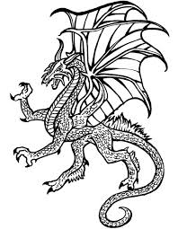 free coloring pages water dragon 4935 bestofcoloring