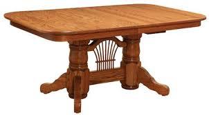 coronado rectangular dining table double pedestal dining table traditional rectangular double pedestal
