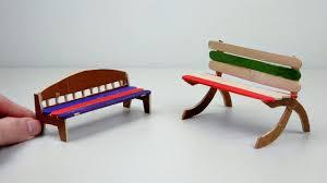 diy miniature popsicle stick chairs 4 easy u0026 simple craft ideas
