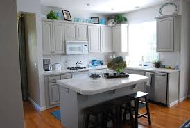 Staining Kitchen Cabinets Without Sanding Grey Cabinets White Countertops Everdayentropy Com