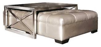 Coffee Table Ottoman Combination Ottomans Make Great Multipurpose Furniture Furniture Today