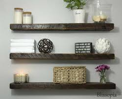 Wall Mounted Shelves Wood Plans by Best 25 Wall Mounted Shelves Ideas On Pinterest Mounted Shelves