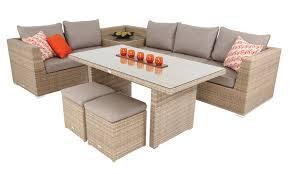 cortez sahara classic grey 9pc low dining modular sofa set