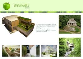 Sustainable Design Interior Inspiration Idea Sustainable Architecture With Eco Project
