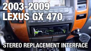 lexus gx470 length beat sonic stereo replacement on 2003 2009 lexus gx 470 with