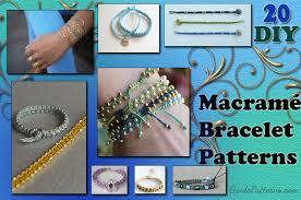 patterns bracelet images 20 diy macram bracelet patterns guide patterns jpg