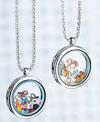 floating locket necklace chains images Winter wonderland floating charm locket necklace ltd commodities jpg