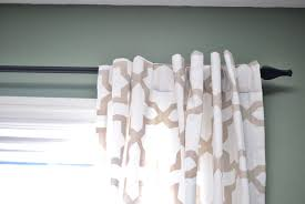 how to customize ready made curtains an easy no sew project
