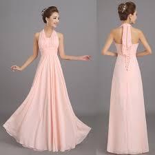 online get cheap peach chiffon off the shoulder dress aliexpress