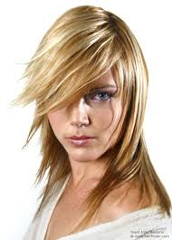 johnbeerens hairstyler long hairstyle with razored ends and hair coloring with tri tones