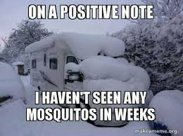 Make A Meme Org - dopl3r com memes ona positive note haventseenany mosquitos in