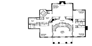 Georgian Mansion Floor Plans Luxurious Georgian House Plan 81091w Architectural Designs
