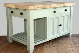 freestanding kitchen island unit awesome handmade solid wood island units freestanding kitchen