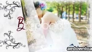 simple wedding slideshow free download videohive template free