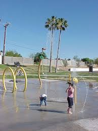 phoenix area pop jet fountains and splash playgrounds