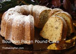 bourbon pecan pound cake recipe thebakingpan com