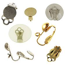 clip on earring converter clip ons converters beadkraft wholesale and jewelry