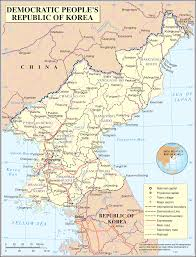 Highly Detailed River Map Of by Geography Of North Korea Wikipedia