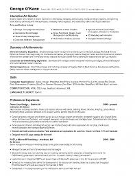 interactive resume examples advertising art director resume example free resume art director modern art director resume example