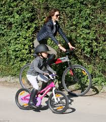 sport riding boots crown princess mary and her children enjoy a bike ride in grasten