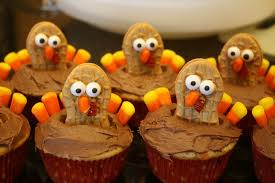 nutter butter turkey cupcakes