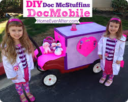 Doc Mcstuffins Costume Diy Doc Mcstuffins Docmobile Out Of A Red Wagon To Go With