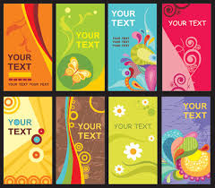 the trend of card template vector download free vector psd flash