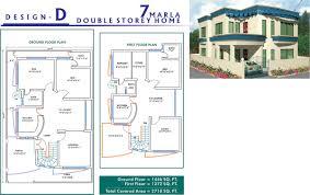 3d home map design online 3d front elevation com 10 marla house plan layout with dimen