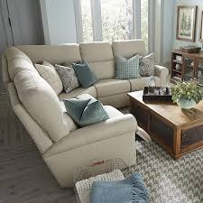 Sectional Reclining Sofa With Chaise Living Room L Shaped Sofa With 2 Recliners Centerfieldbar