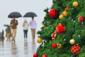 cold wet weather hanging around southern california for christmas