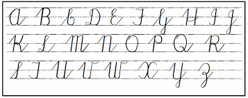 4th Grade Cursive Writing Worksheets 17 Best Ideas About Capital Letters In Cursive On Pinterest