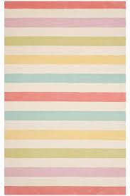 Green Kids Rug Martha Stewart Living Kids Circus Stripe Area Rug In Peony