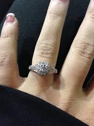 engagement rings kohl s vera wang engagement rings weddingbee